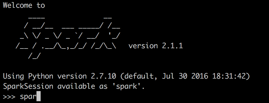Switching between Scala and Python on Spark tips – Garren's